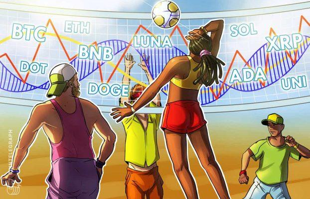Análisis de precios del 25 de octubre: BTC, ETH, BNB, ADA, XRP, SOL, DOT, DOGE, LUNA, UNI
