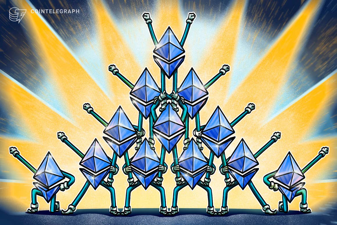 Vuelve a aparecer el fractal de Ethereum de 2017 que supuso ganancias del 7,000%