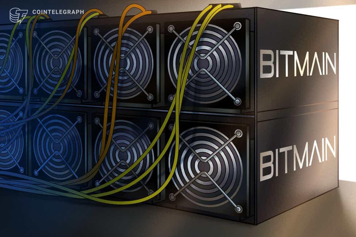 Bitmain detiene el envío de equipos de minería de criptomonedas Antminer a China