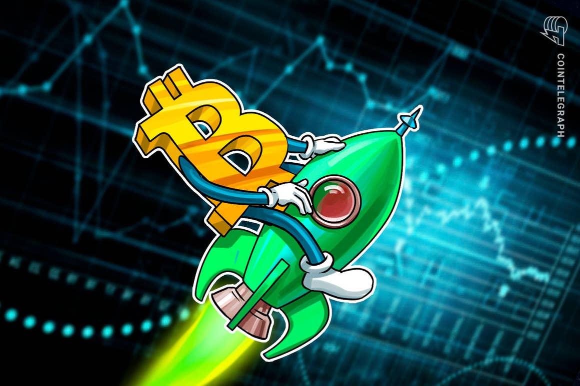 El precio de Bitcoin se dirige a lo que será un máximo histórico matemáticamente «programado» de USD 200,000 o más