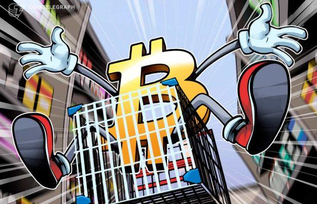 PayPal registra su mayor volumen de Bitcoin desde la caída del precio del BTC en mayo