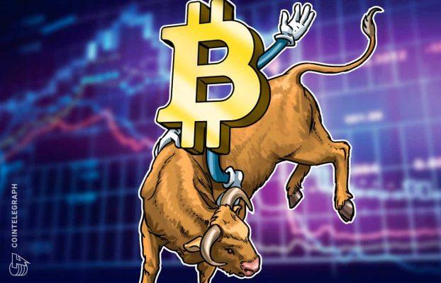 Bitcoin sigue estando en una tendencia alcista aunque su precio caiga a USD 50,000, sugiere un análisis