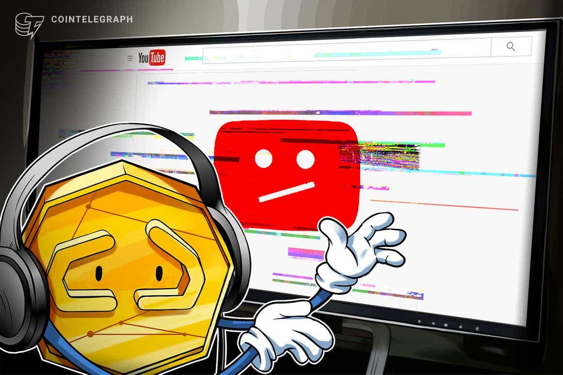 Canales de YouTube son hackeados y renombrados para retransmitir en directo estafas con criptomonedas