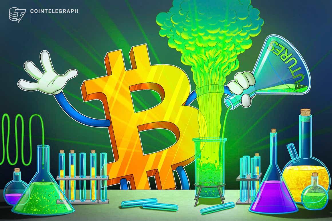 El interés abierto de los futuros de Bitcoin de CME alcanza un máximo de 8 meses, mayor a cuando el precio de BTC estaba en USD 65,000