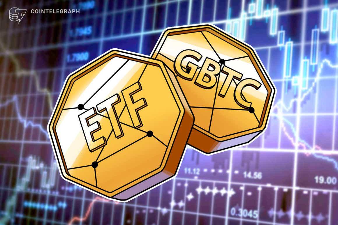 El Grayscale Bitcoin Trust ofreció mejores rendimientos que los ETF de Bitcoin la semana pasada