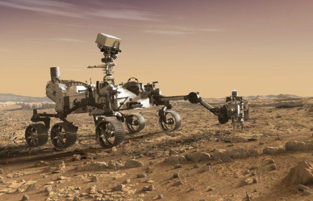 la NASA publica un video con sonidos de Marte