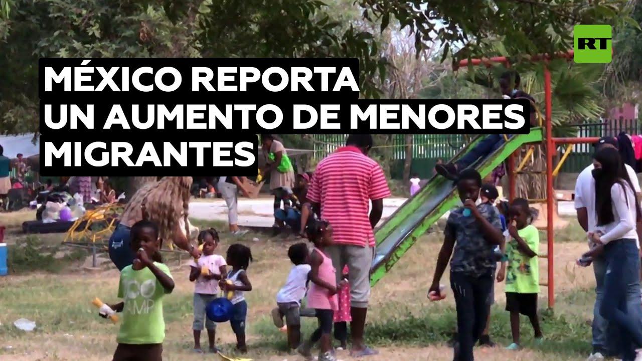 México reporta un aumento de menores migrantes