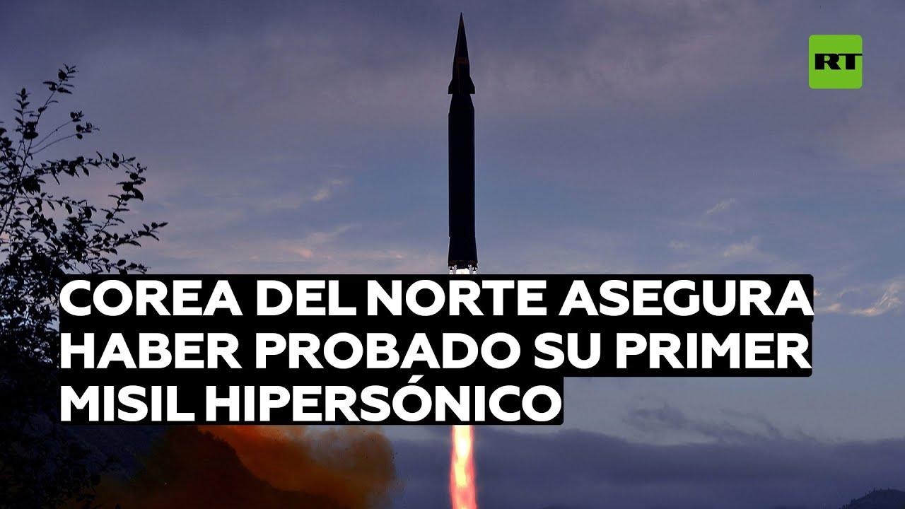 Corea del Norte asegura haber probado su primer misil hipersónico