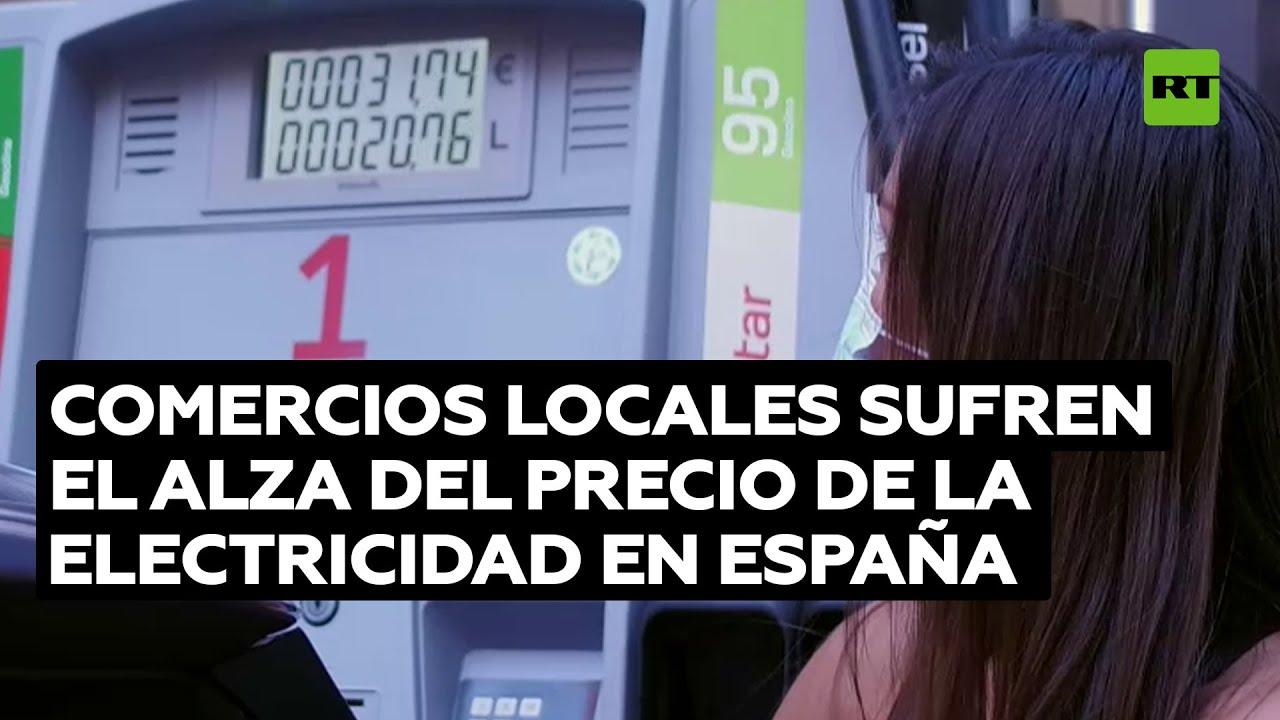 El precio de la luz en España supera por primera vez los 200 euros