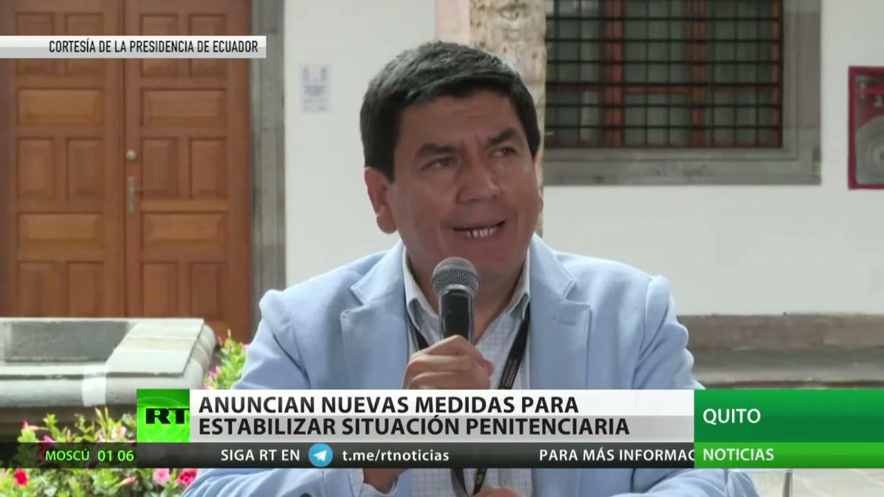 """Ecuador envía a 3.600 funcionarios para """"retomar el control"""" de los centros penitenciarios"""
