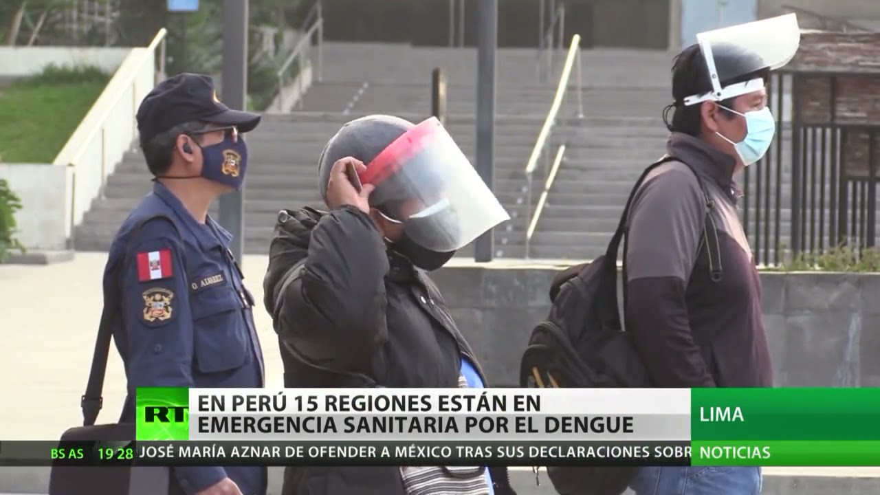 15 regiones de Perú están en emergencia sanitaria por el dengue