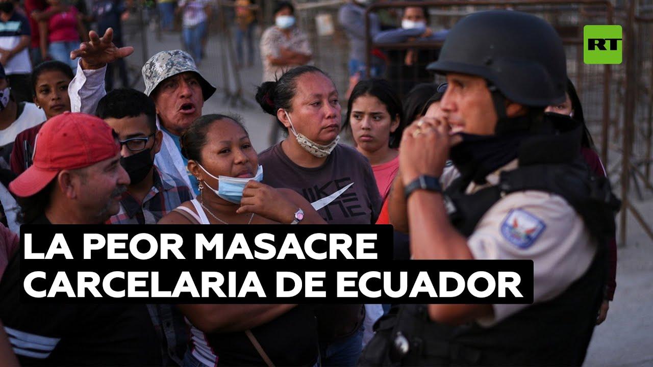 ¿Qué originó la peor masacre carcelaria de Ecuador y la quinta de América Latina?