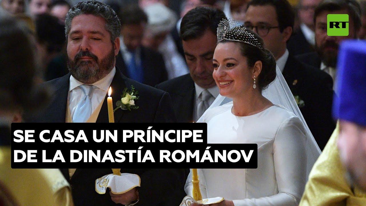Rusia celebra el primer matrimonio real en más de un siglo: se casa un pariente del zar asesinado