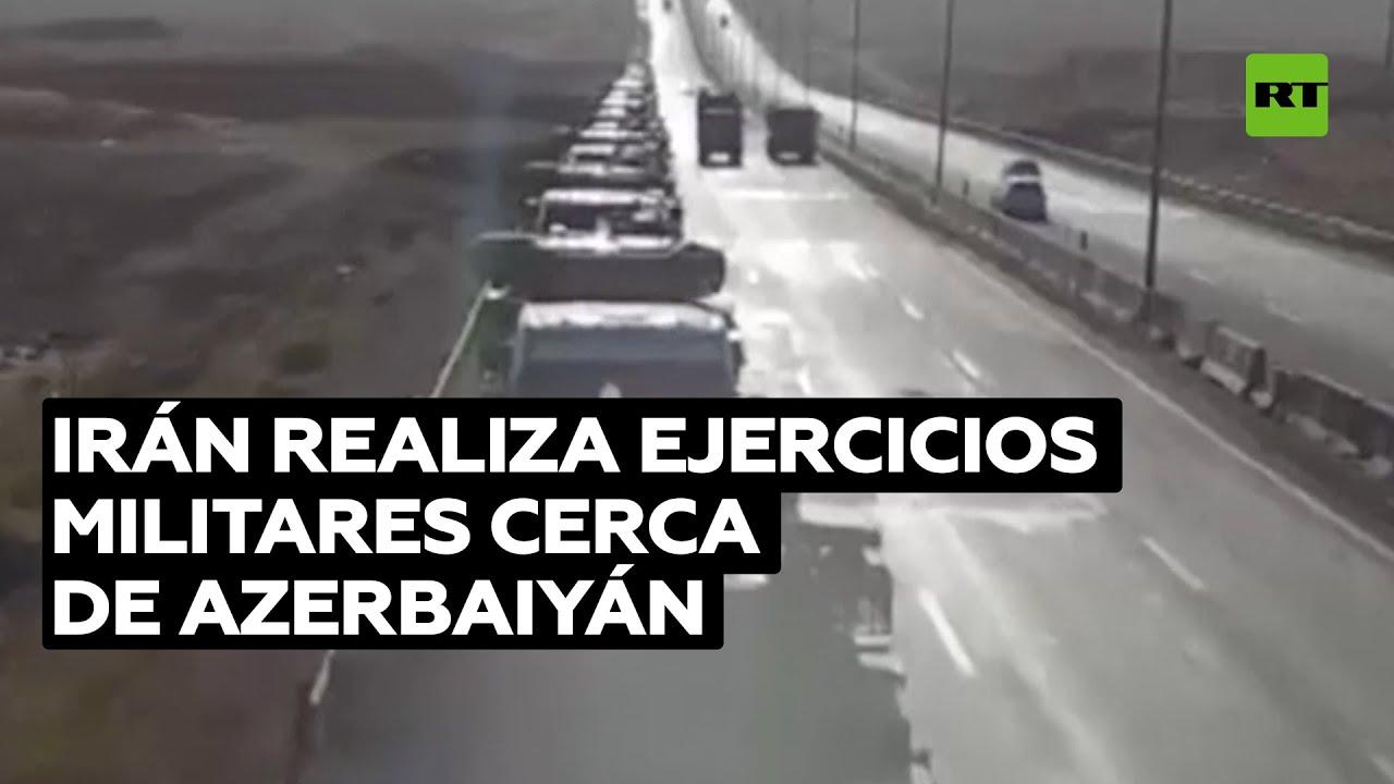 El ejército iraní realiza ejercicios cerca de la frontera con Azerbaiyán