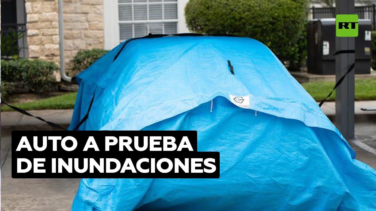 Crean una funda que protege a los autos de las inundaciones @RT Play en Español