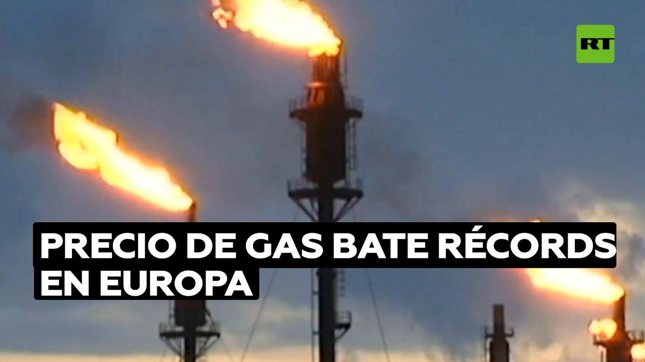 El precio de gas bate un nuevo récord en Europa alcanzando los 100 euros por MWh