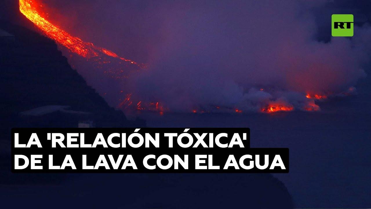¿Por qué es peligroso el contacto de la lava con el océano? @RT Play en Español