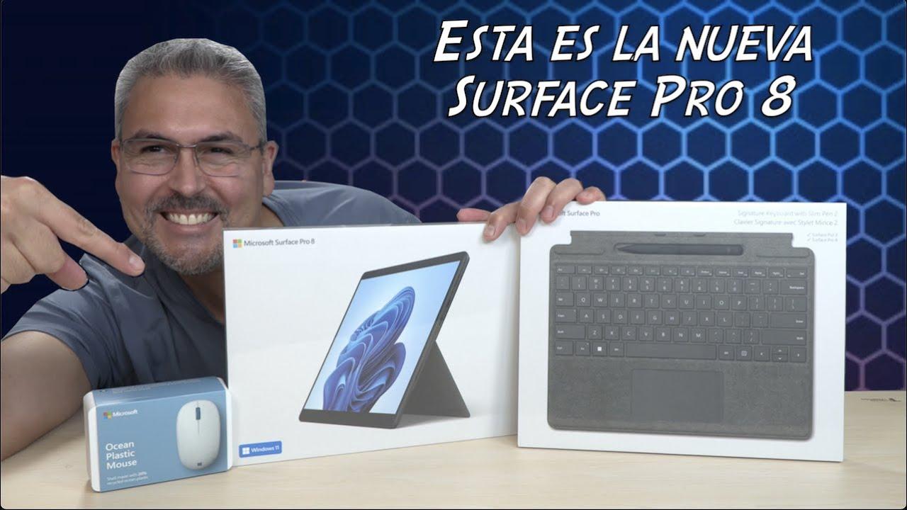 Esta es la nueva Microsoft Surface Pro 8 con Keyboard, Slim Pen 2 y Windows 11