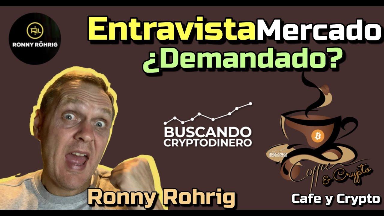 ☕️ Platica con Ronny Röhrig de Cripto Avances en Cafe y Crypto !!
