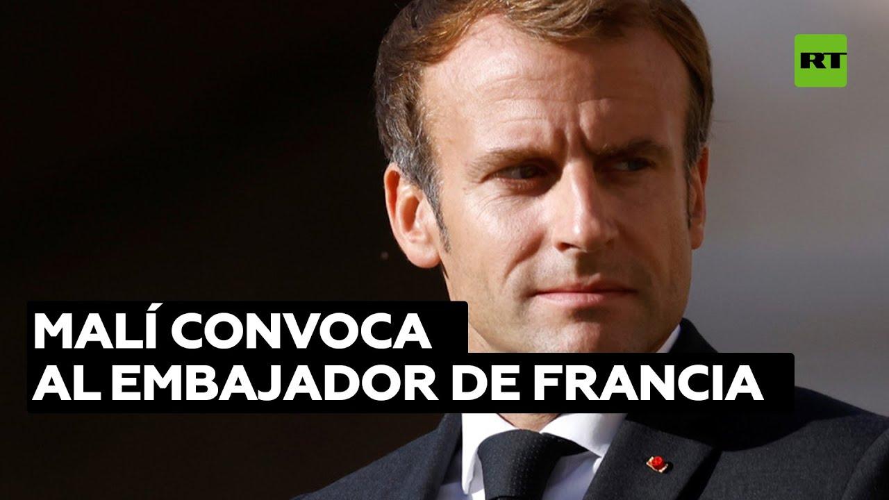 """Bamako cita al embajador francés tras los comentarios """"inamistosos y despectivos"""" de Macron"""