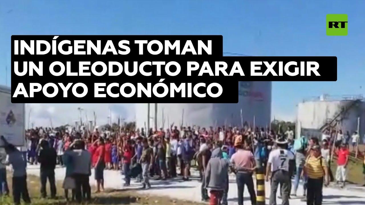 Oleoducto Norperuano paraliza las operaciones en una de sus estaciones tras ser tomada por indígenas