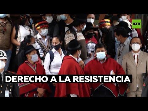 Indígenas ecuatorianos prometen resisitencia ante el aumento del precio de los combustibles