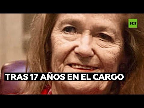La única jueza de la Corte Suprema de Justicia de Argentina dimite tras ocupar el cargo por 17 años