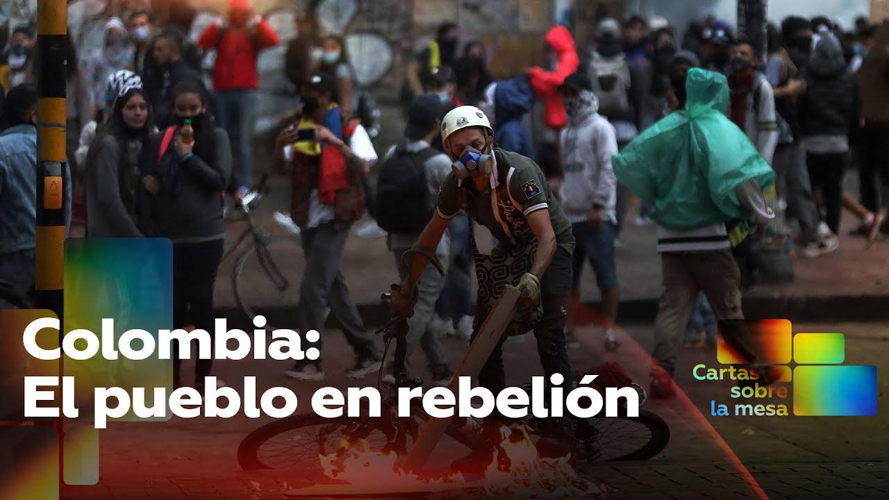 Colombia: El pueblo en rebelión – Cartas sobre la mesa