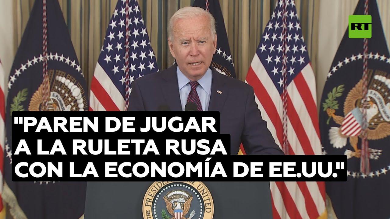 Biden declara que no puede garantizar que EE.UU. logre pagar su deuda @RT Play en Español