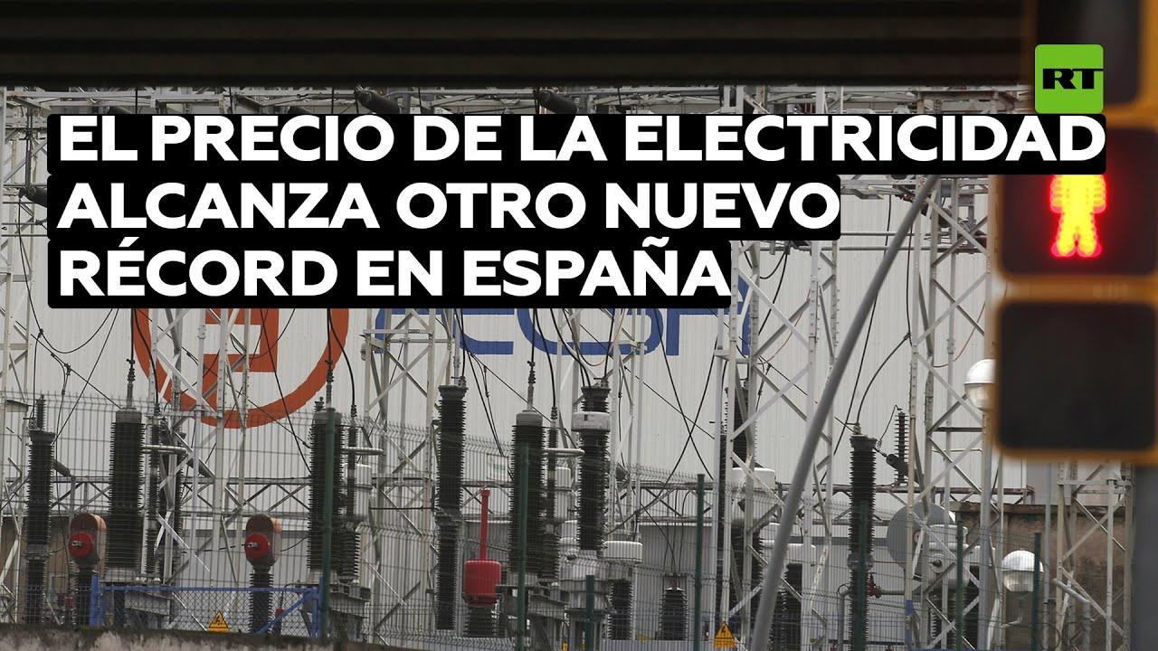 El precio de la electricidad alcanza otro nuevo récord en España y llega a los 228,59 euros