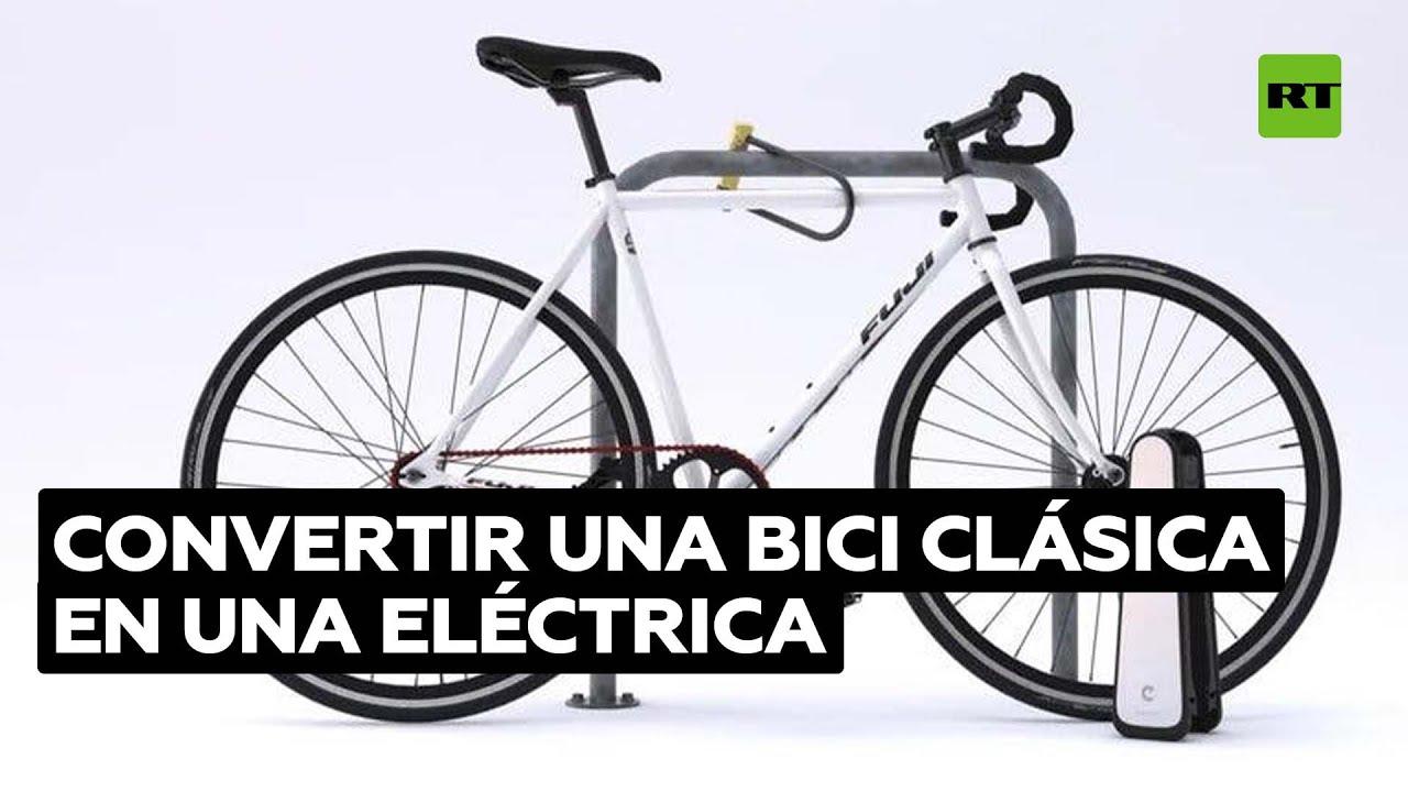 Dispositivo portátil convierte en eléctrica a una bicicleta convencional @RT Play en Español