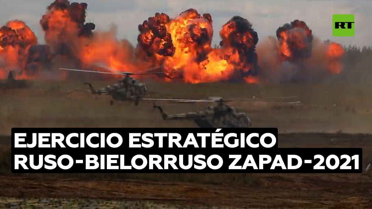 Las imágenes más impactantes del ejercicio estratégico ruso-bielorruso Zapad-2021