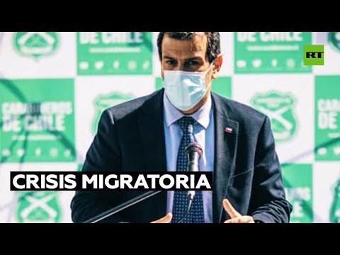 Diputados chilenos aprueban la interpelación al ministro del Interior por la crisis migratoria