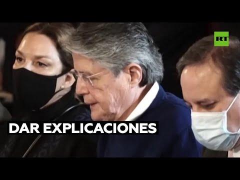 La Comisión de Fiscalización investiga al presidente de Ecuador por los Papeles de Pandora