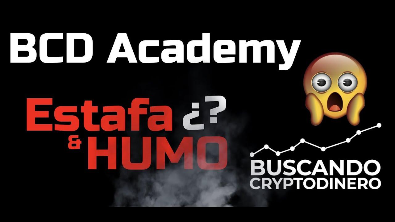 BCD Academy… ¿Puro HUMO y ESTAFA? #cursodeanalisistecnico