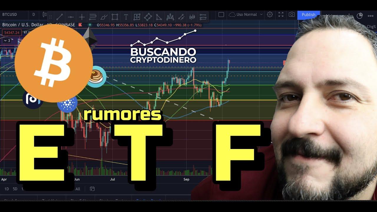 🚀 Bitcoin con RUMOR de que el ETF sera aprobado en 2 semanas !!! + Rifa de Litecoin !!!