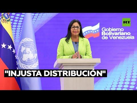 """Venezuela denuncia la """"injusta distribución"""" de los Derechos Especiales de Giro del FMI"""