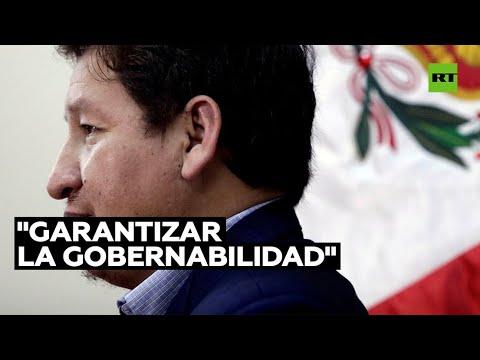El presidente peruano Pedro Castillo acepta la renuncia del primer ministro Guido Bellido