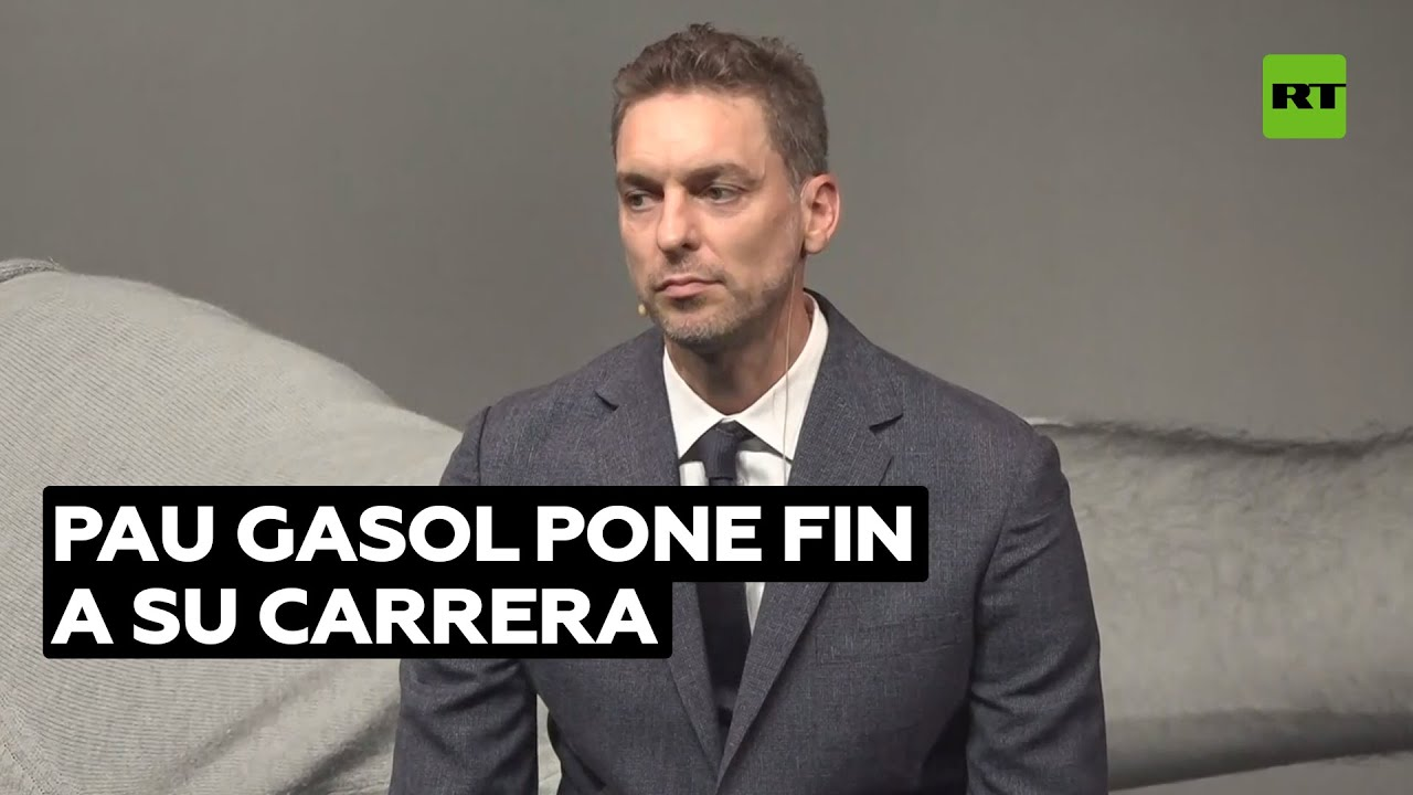 Pau Gasol anuncia su retirada del baloncesto profesional @RT Play en Español