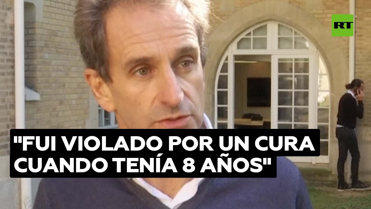Un actor francés denuncia haber sido violado por un cura cuando era niño  @RT Play en Español