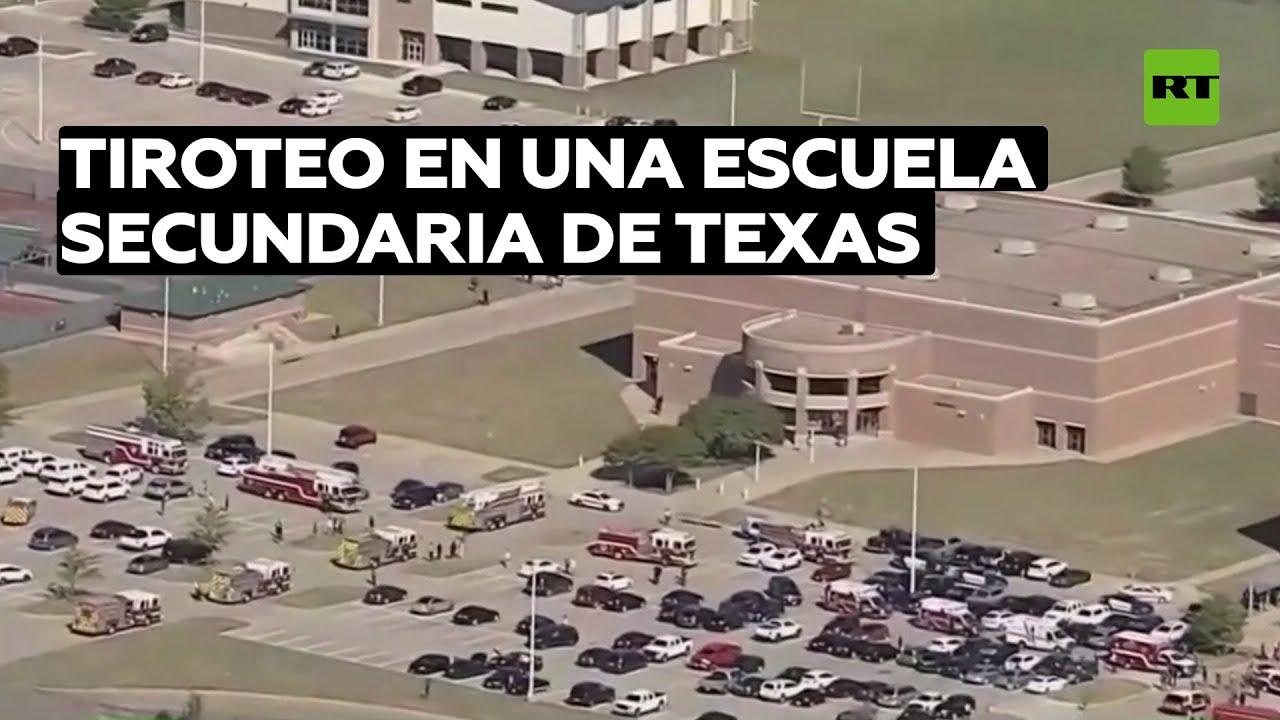 Un tiroteo en una escuela secundaria de Texas deja 4 personas heridas