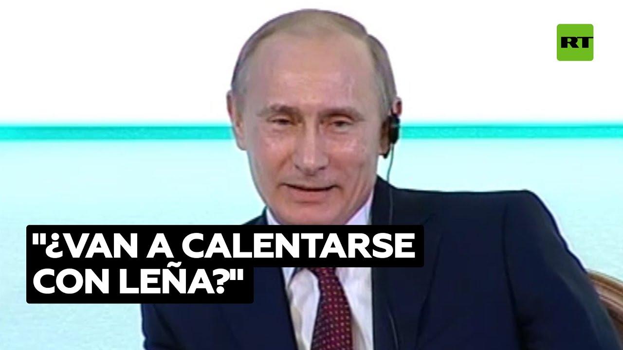 Una broma de Putin sobre el gas en 2010 resultó ser premonitoria @RT Play en Español