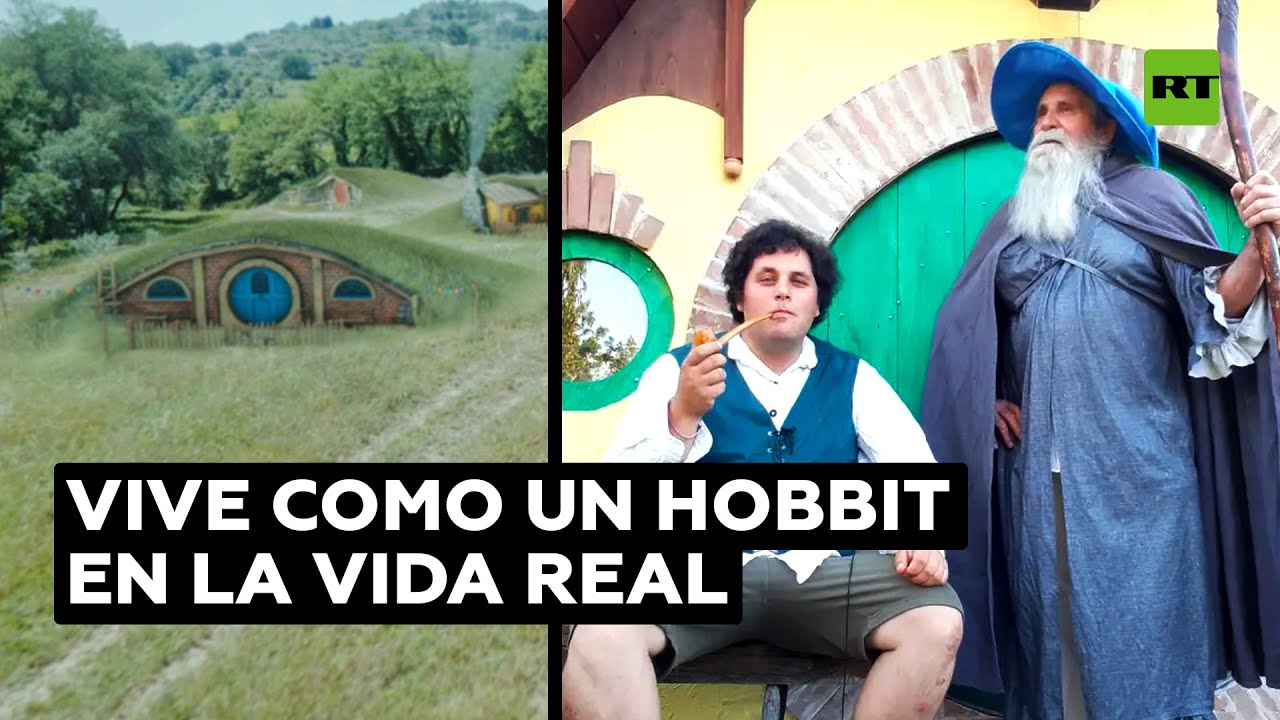 Un fan de Tolkien se construyó su propia casa hobbit @RT Play en Español
