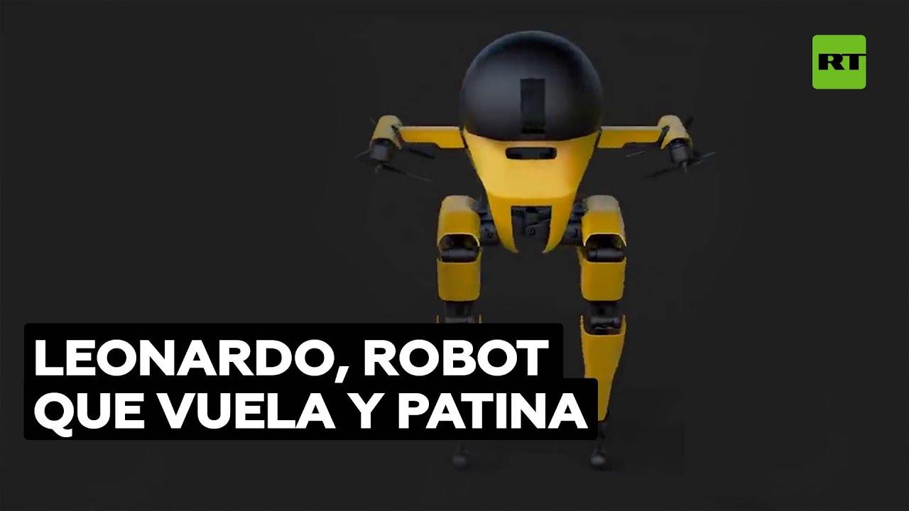El robot bípedo que puede volar y montar en monopatín