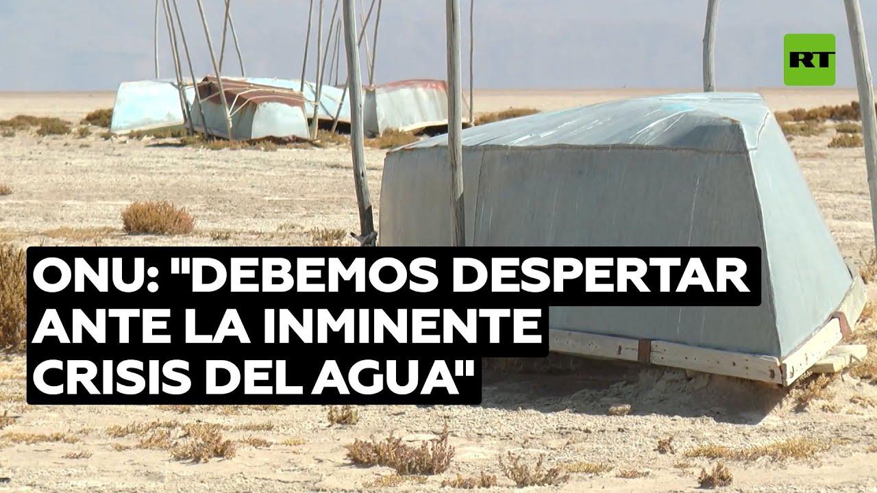 La ONU alerta que más de 5.000 millones de personas sufrirán falta de agua para el 2050