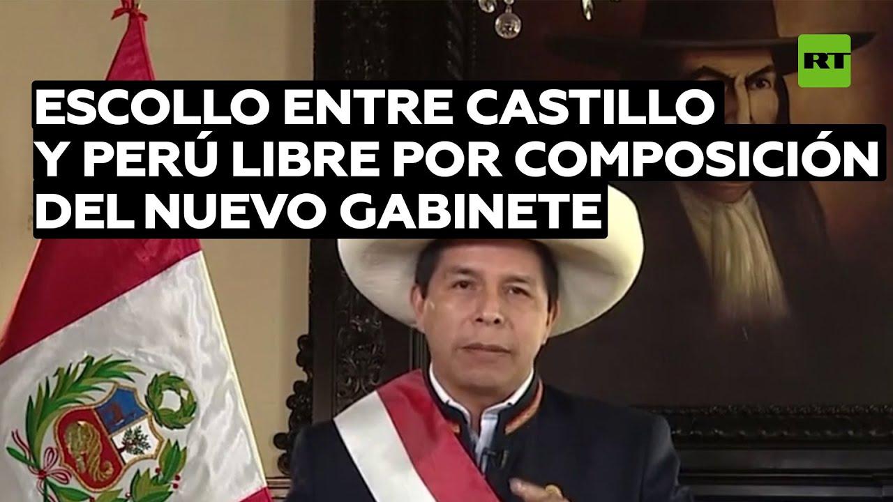 """""""Partido Perú Libre debería apoyar a Castillo porque nuevos miembros del Gabinete son de izquierda"""""""