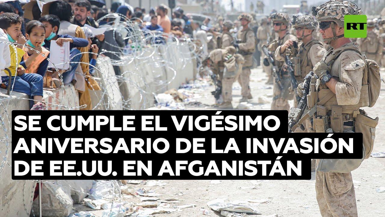 Este jueves se cumple el vigésimo aniversario de la invasión de EE.UU. en Afganistán