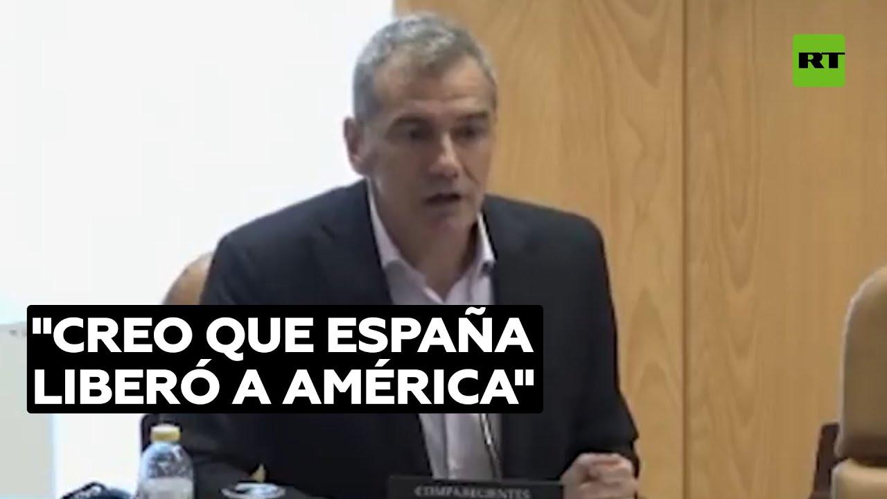 Un cargo público niega que España colonizara América @RT Play en Español