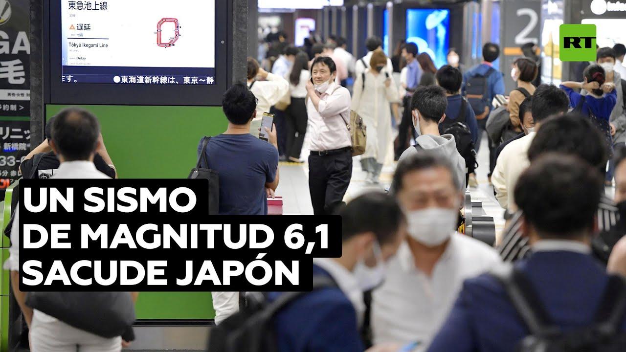 Un sismo de magnitud 6,1 se produce en Japón