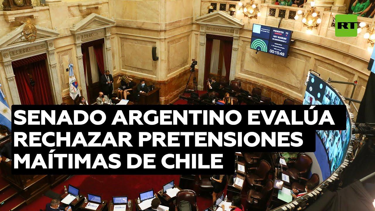 Senado de Argentina evalúa rechazar recientes pretensiones de Chile